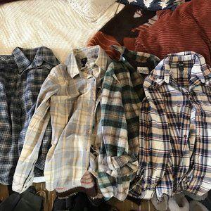 Plaid Shirt Bundle